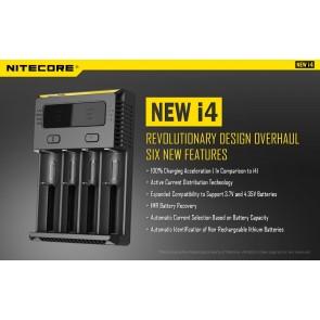 Intellicharger New i4 Nitecore