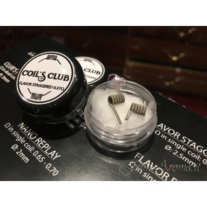 Flavor Staggered L.E. by Coil's Club