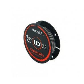 Clapton Wire Kanthal 28gaX2+32ga 5mt