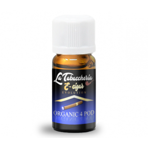 E-Cigar Organic 4 Pod Aroma Concentrato by La Tabaccheria