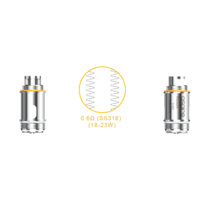 Coil 0.6 ohm per PockeX AIO Kit by Aspire