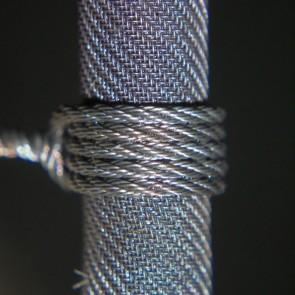 NiCr Rope 0.1 х 4 x 4 by Vaper's Breath