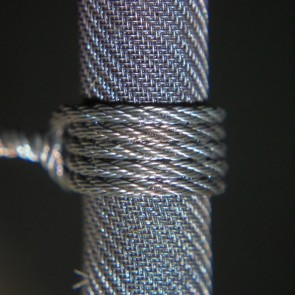 NiCr Rope 0.1 х 3 x 3 by Vaper's Breath