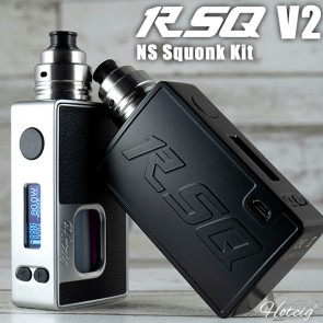 RSQ NS 80W Squonk Kit by Hotcig