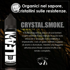 Crystal Smoke Aroma 20 ml by Azhad Clean