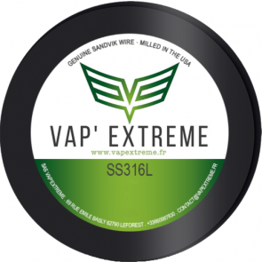 SS 316L by Vap' Extreme
