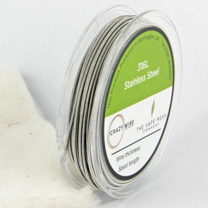 Clapton Wire SS316L 28AWG