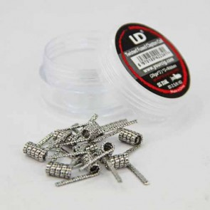Twisted Fused Clapton Coil SS316L